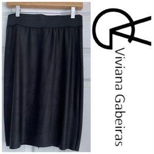 Viviana Gabeiras black skirt